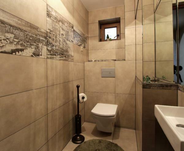 łazienka, Okrajnik