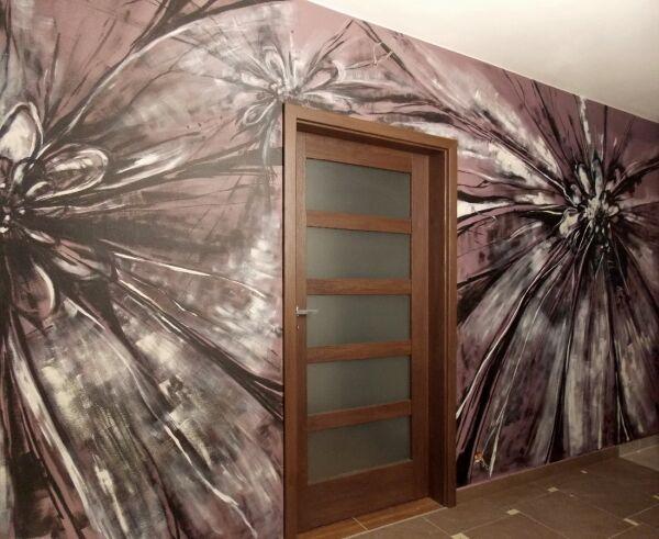 artystyczne malarstwo ścienne