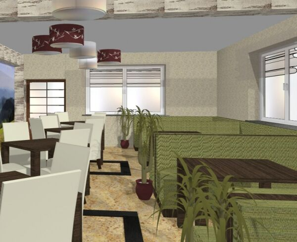 projekt restauracji, Istebna
