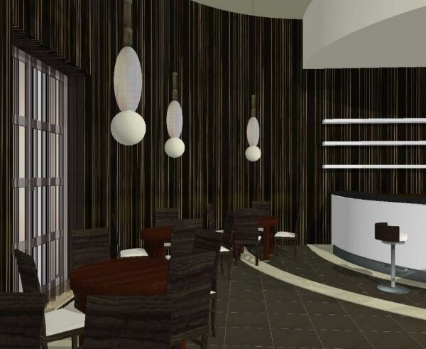 projekt hotelu, Zawiercie
