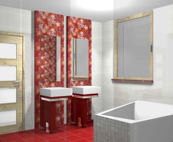 projekt łazienki, Żabnica